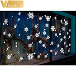 Christmas Window Snowflake Wall Stickers