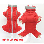 Waterproof Reflective Jumpsuit for Small Pet Dogs