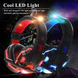 HOT SELLING LED Gaming Headphone with Microphone with Volume Control for PC