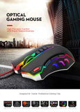 BEST SELLING ULTRA MODERN USB Wired LED Gaming Mouse with Programmable 10 Buttons