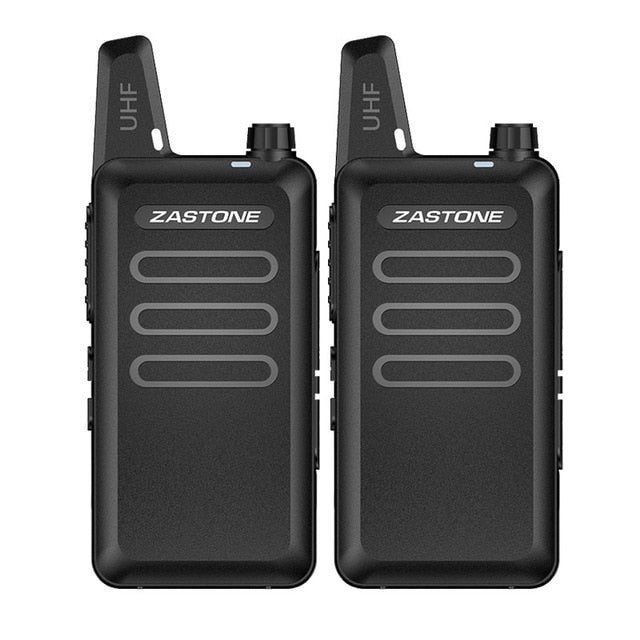 Mini UHF 400-470MHz Frequency Portable Handheld Walkie Talkie Two-Way Ham Radio