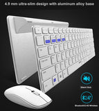 HOT SELLING Multi-Mode Silent Wireless Keyboard + Mouse for Laptop