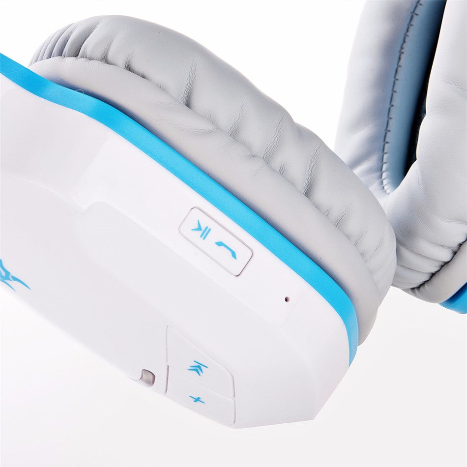 Futuristic Wireless Bluetooth Stereo Headphone with 4. 1 Stereo