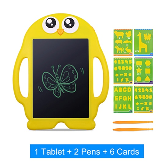 Funky Portable 9'' Digital LCD Writing Tablet for Kids