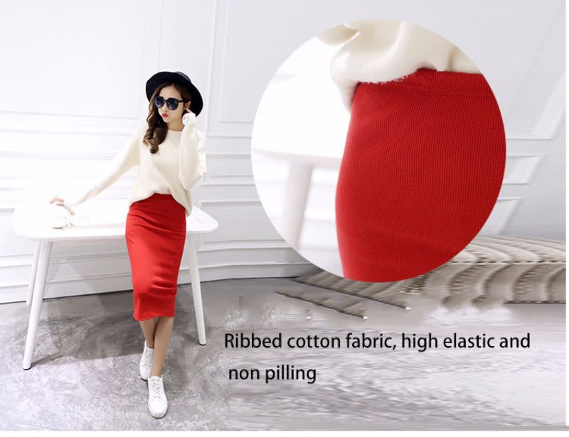Women's Summer Sexy Pencil Midi Skirts