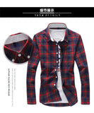 Plaid Pattern Casual Shirts