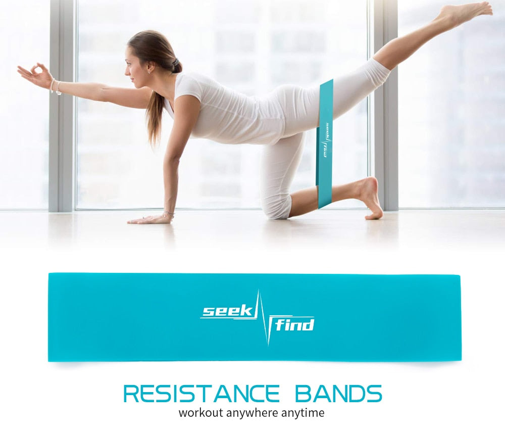 TPR Resistance Elastic Rubber Band Fitness Gym Equipment