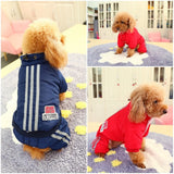 ATTRACTIVE Pet Dog Warm Winter Jumpsuits