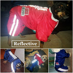 Striped Pattern Winter Clothes for Pet Dogs
