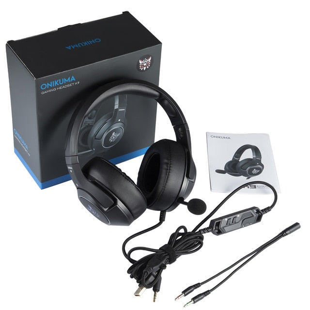 FAST SELLING LED Gaming Headset with Microphone For Laptop/ PS4/Xbox One Controller Gamer