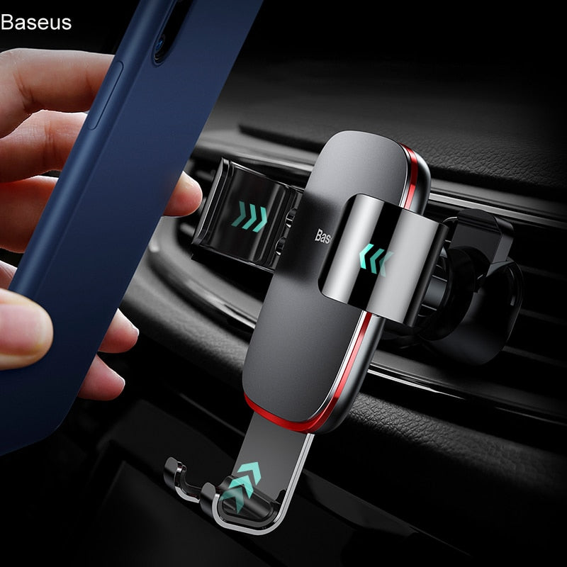 HOT Selling Universal Air Vent Mount Gravity Holder for iPhone X, Samsung S9