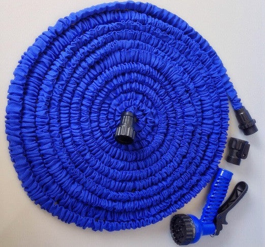 Hot Magic Flexible & Expandable Garden Hose Reels for Watering