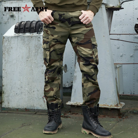 STYLISH Army Military Cargo Pants