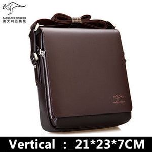 Luxury Brand New Leather Shoulder Bag for Men