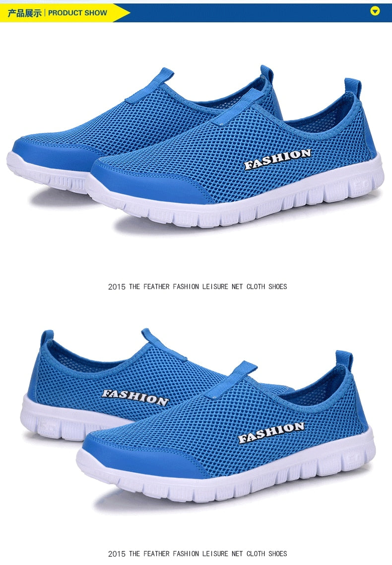 SPORTY New Plus Size Comfortable Men's Casual Shoes