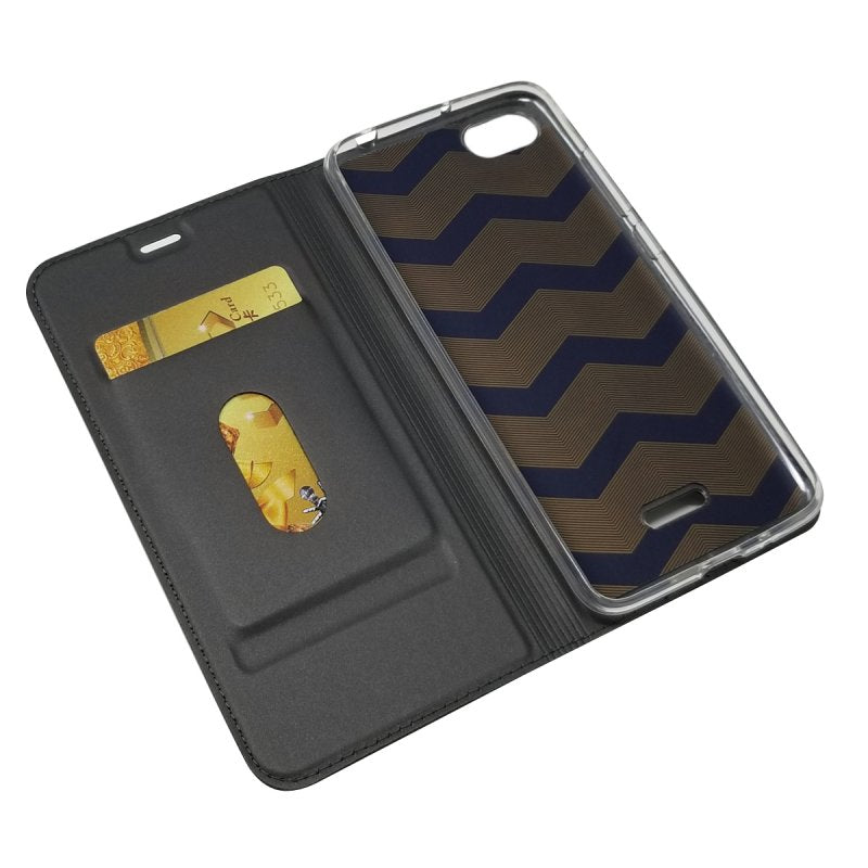 BEST SELLING Magnet Wallet Leather Mobile Case for Xiaomi Redmi 6A