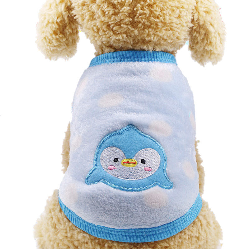 CUTE Cartoon Printed Warm Clothing for Puppy