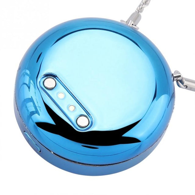 FAST SELLING New Stylish Mini USB Necklace Air Purifier