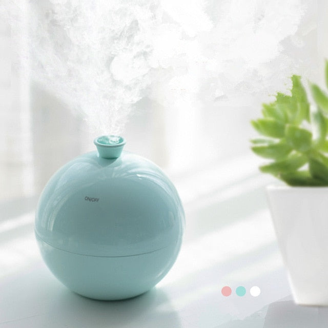 Mini Balloon Shape USB Air Humidifier Aroma Diffuser Water Mist Maker for Car