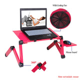 Trendy Adjustabl Laptop Stand with Cooling Fan