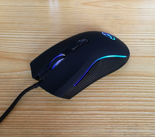 ULTRA Sleek and Trendy  Professional Optical LED Gaming Mouse with 7 Bright Colors