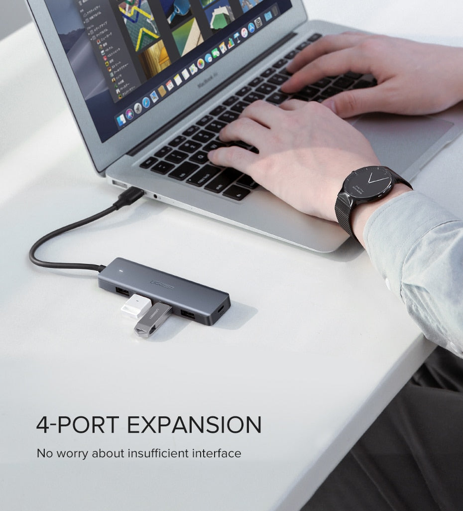 FAST SELLING USB 3.0 HUB with Micro Charge for Computer