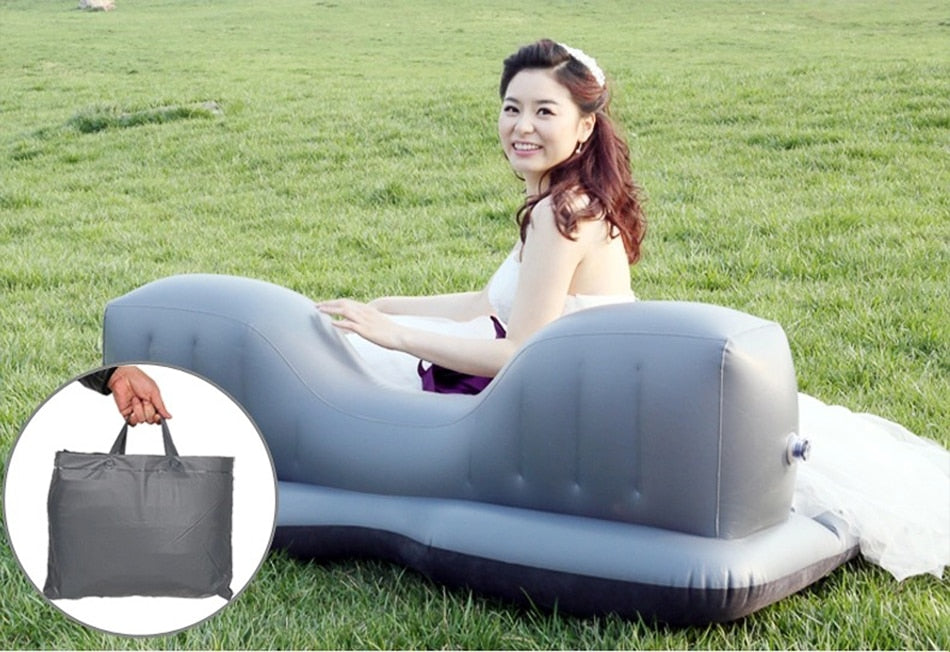TOP SELLING Air Inflatable Multi Functional Outdoor Camping Travel Mattress