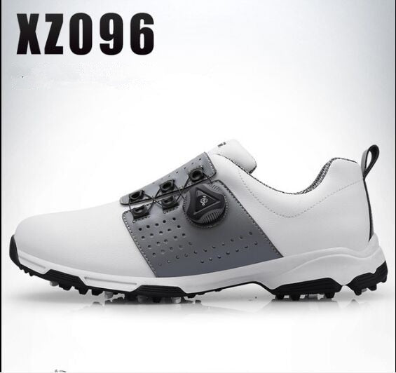 Waterproof Breathable Slip Resistant Rotating Knobs Buckle Sports Golf Shoes