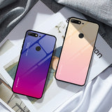 TOP SELLING Gradient Tempered Glass Phone Case