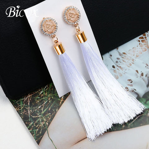 Long Drop Dangle Earrings for Women