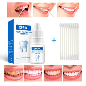 Oral Hygiene Teeth Whitening Serum Gel for Removal of Plaque Stains