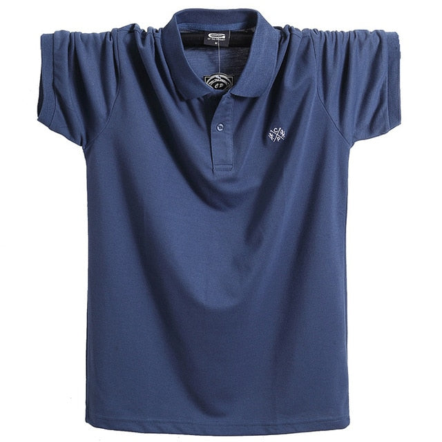 NEW Summer Fat Big and Tall Men's Polo Shirt