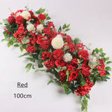Artificial Red Flower String for Wedding