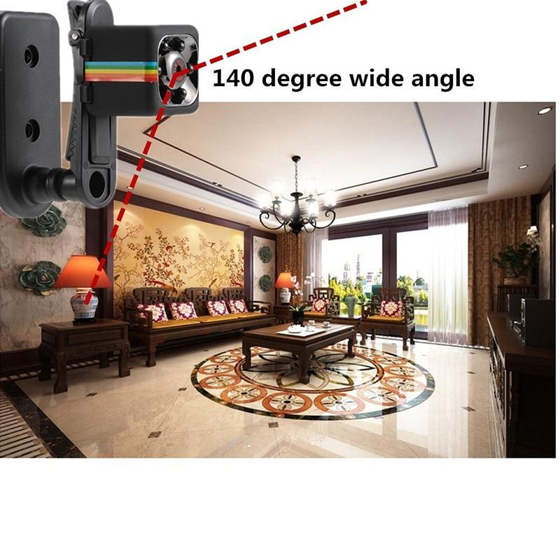 Smart HD 1080P Mini SPY Camera With Infrared And Night Vision