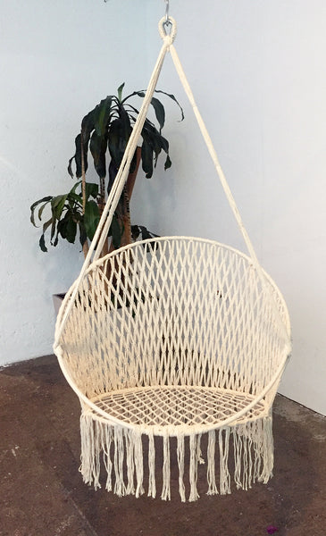 Silla Colgante :: Modelo White Swing Chair