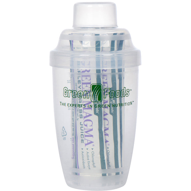 Green Foods Shaker Cup