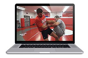 Wrestling Takedown Machine : Drags, Ducks, Trips & Sweeps by Jon Trenge