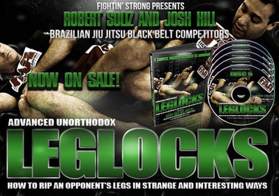 Advanced BJJ Unorthodox Leglock Series by Josh Hill And Robert Soliz