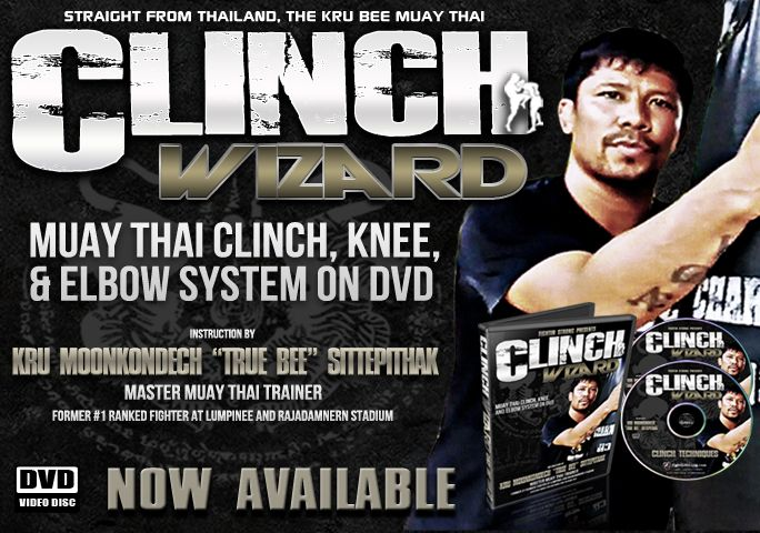 "Clinch Wizard : Muay Thai Training by Kru Moonkondech ""TRUE BEE"" Sittepithak"