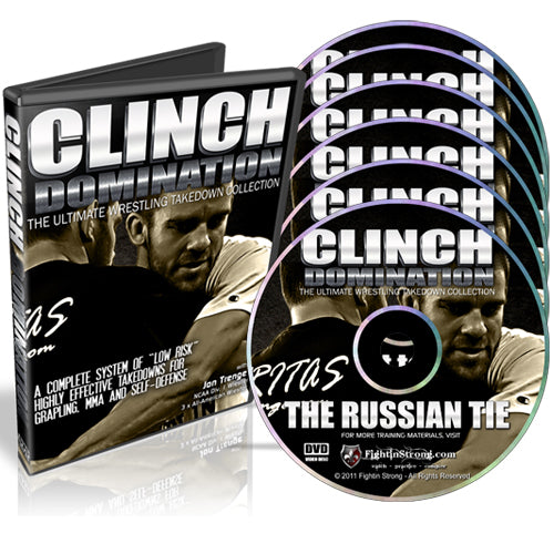 Clinch Domination : Wrestling Takedown System by Jon Trenge