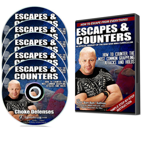 "BJJ Escapes and Counters by Scott ""Bam Bam"" Sullivan"