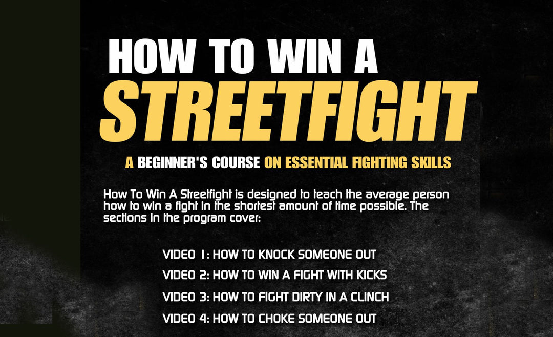 "How to Win a Street Fight by Scott ""Bam Bam"" Sullivan"