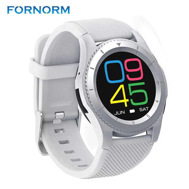 Fornorm Bluetooth Wrist Watch Wireless Smart Watch For Android SIM Card Heart Rate Monitor Anti-lost Pedometer Sleep Monitor - Pedometer Watches