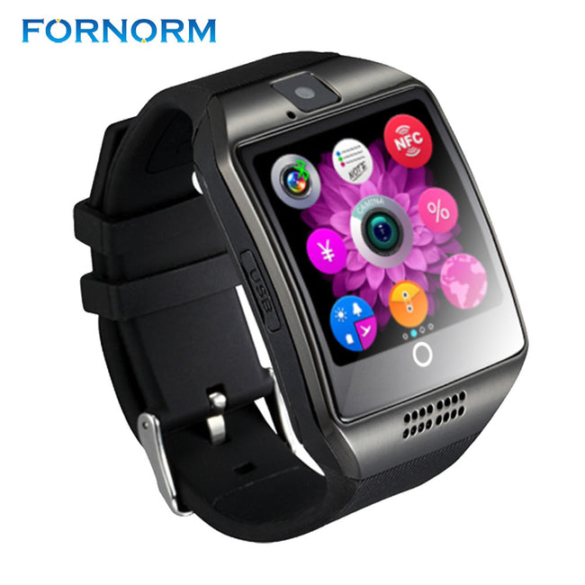Q18 Bluetooth Smart Bracelet Watch Support SIM TF Card 1.54'' TFT Wrist Bracelet pedometer sleep monitor for Android iphone - Pedometer Watches