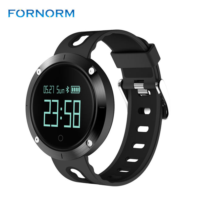 Smart Watch Remote Controller Heart Rate Calls/SMS Sedentary Reminder Sleep Monitor smartwatch for Android IOS - Pedometer Watches