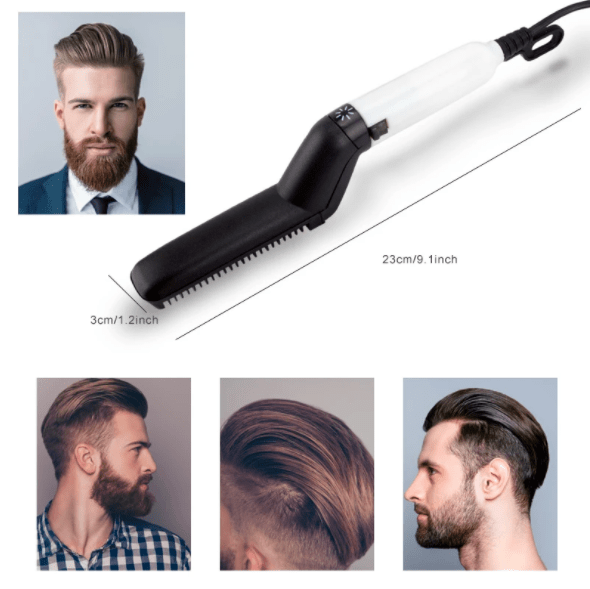 Beard Straightening Comb.