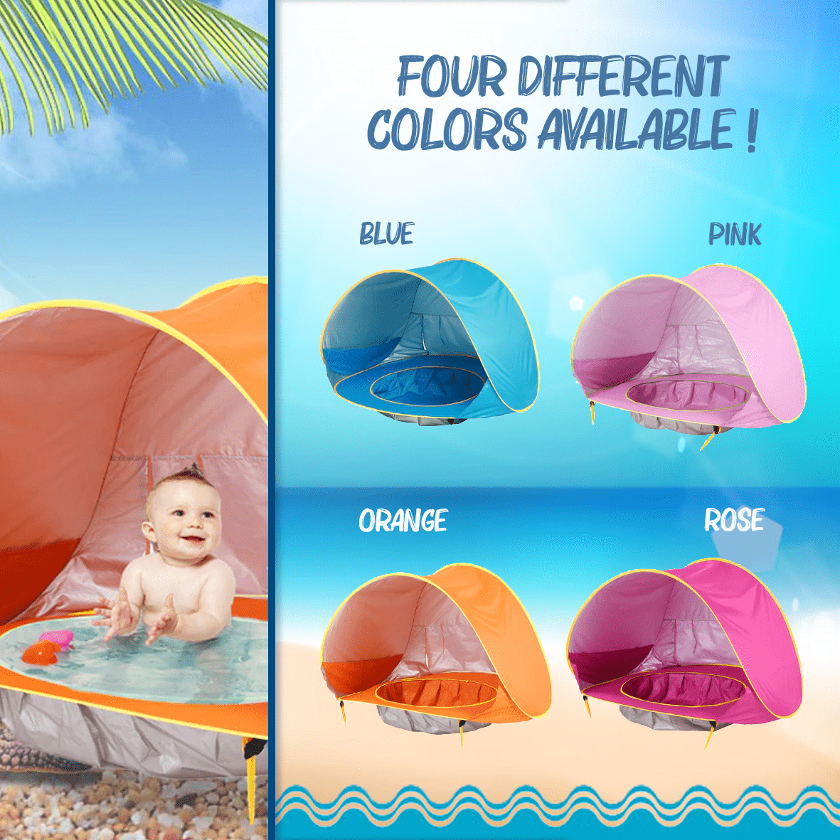 The Best Baby Beach Tent.