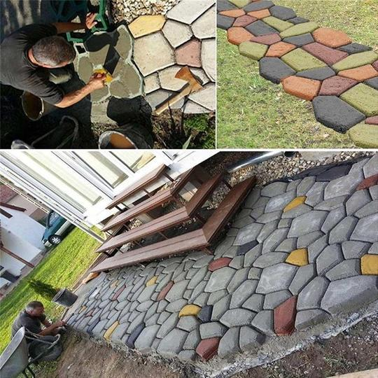 Home Garden Path Maker Mold - DoeShopy