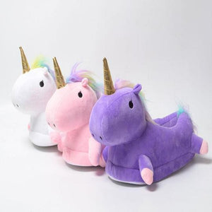 Comfy Unicorn Slippers - DoeShopy
