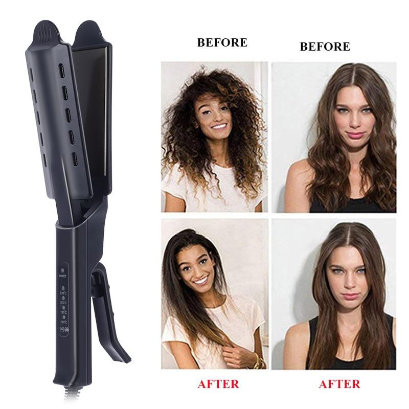 Four-Gear Steam Hair Straightener.